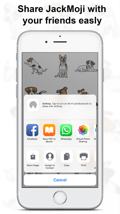 JackMoji - Jack Russell Emoji & Stickers Screenshot 2