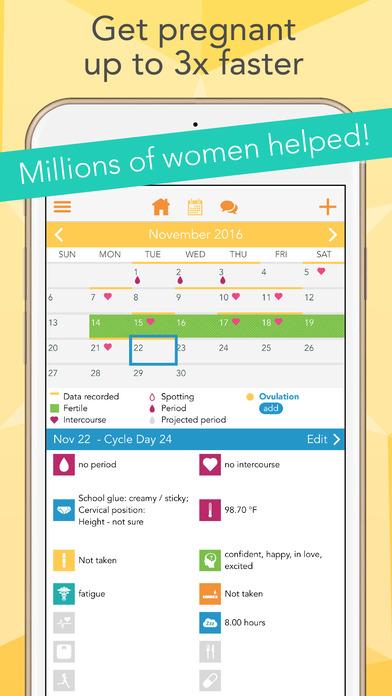 Ovia Fertility Tracker Amp Ovulation Calculator App App