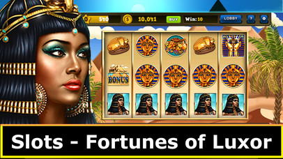 Screenshot 1 Slots — Fortunes of Luxor Egypt Jackpot Casino