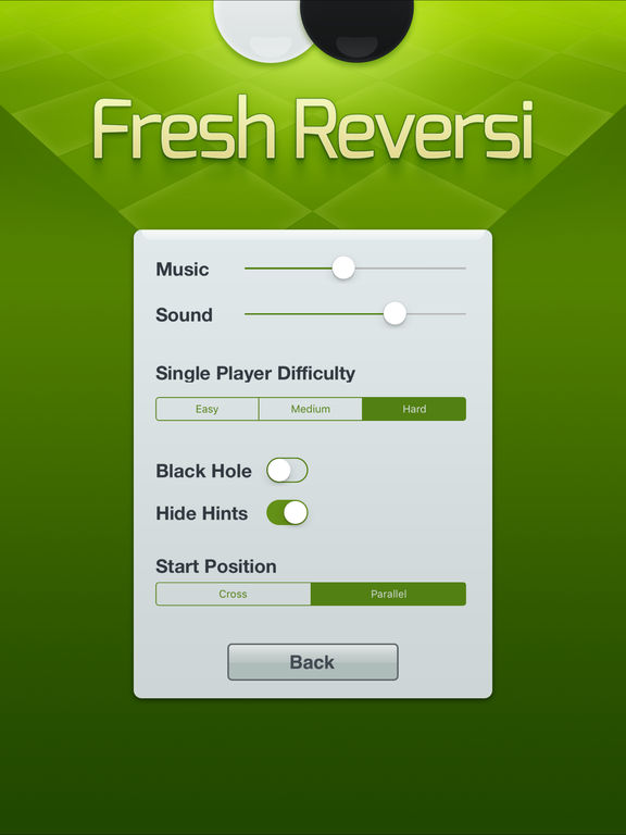 Screenshot #5 for Fresh Reversi - Othello Like Strategy Game