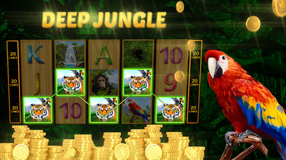 Screenshot 5 Deep Jungle Автоматы