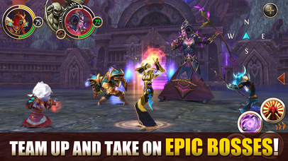Screenshots of Order & Chaos Online for iPhone