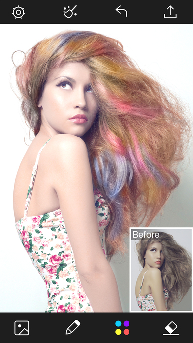 Hair Color Changer  Styles Salon  Recolor Booth on the App Store