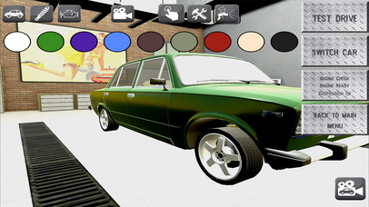 Racing Car Workshop screenshot 3