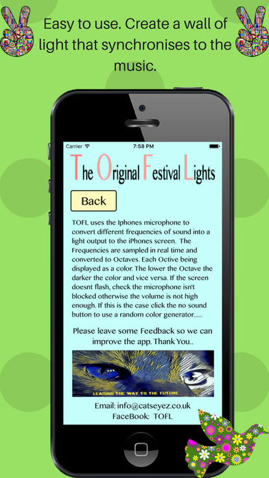 Screenshot for Original Festival Lights Premium in United States App Store