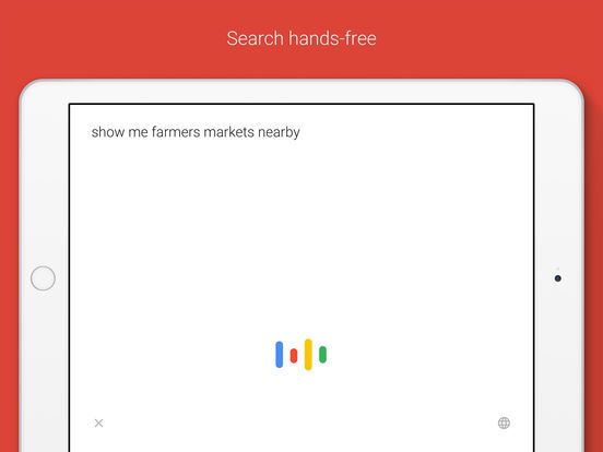 Screenshot #2 for Google – Search made just for mobile
