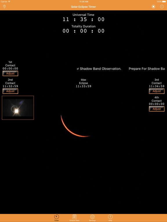 Solar Eclipse Timer screenshot 9