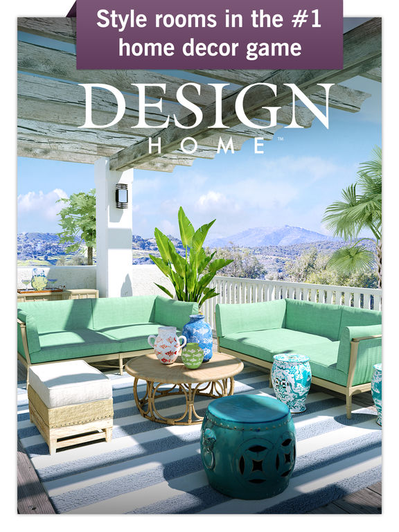 ipad screenshot 1 - Home Design Game