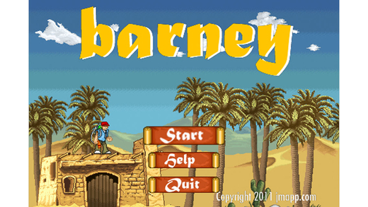 Barney - Platformer Game with Upgradable Guns Screenshots