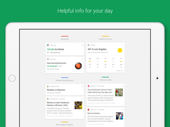 Google – Search made just for mobile Screenshot