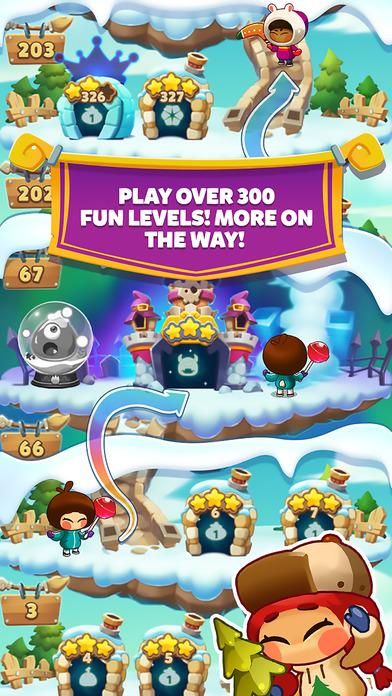 Monster Busters: Ice Slide screenshot 4