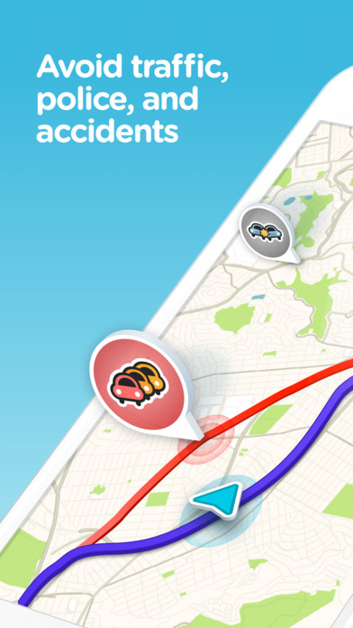 download Waze - GPS, Maps, Traffic Alerts & Live Navigation apps 0