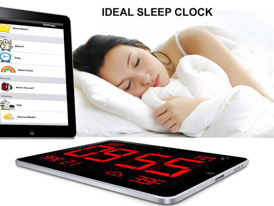 iDigital Big3 Alarm Clock - Largest Display Time Screenshots