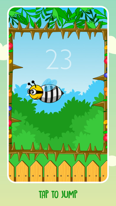 Bee Jump screenshot 2