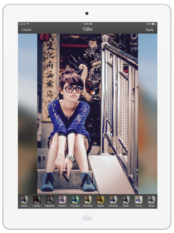 PicZone: Editor, Stickers & Collage Upto 60 Photos Screenshots