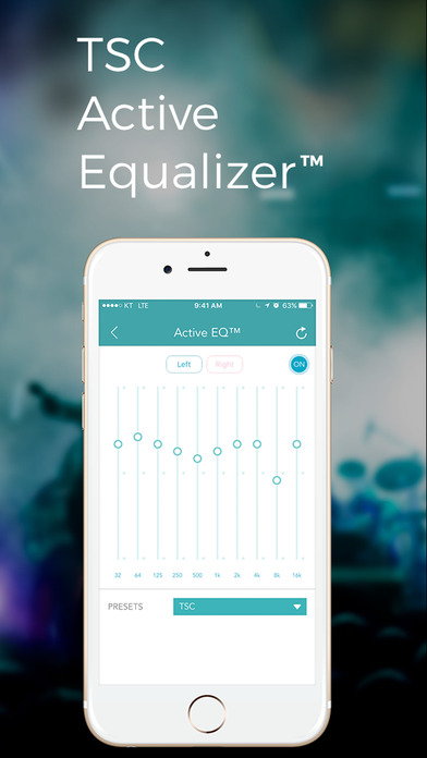 TSC Music: Equalizer Balance & Smart Music Player Screenshot