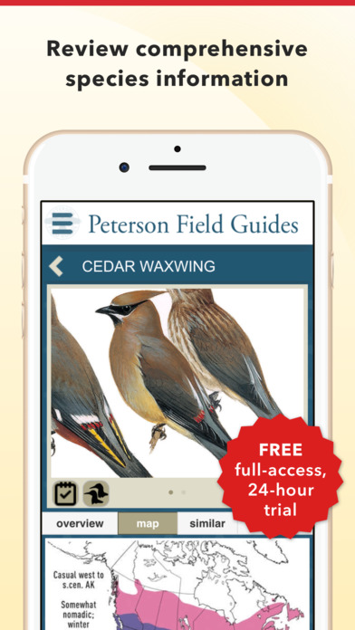 Peterson Birds of North America screenshot 3