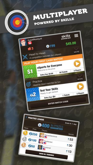 Screenshot 4 Archery Gold — Win Cash With Skillz