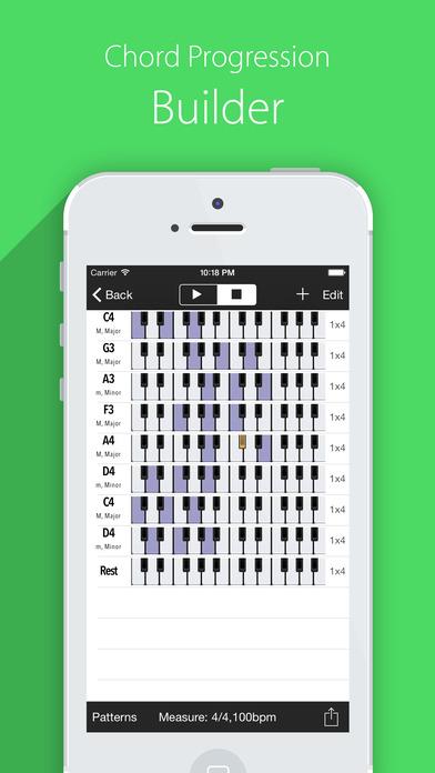 Piano Chords Scales Companion Pro and Progressions Screenshots