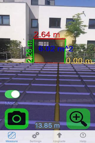 Ruler Camera - Tape Measure 3D screenshot 1