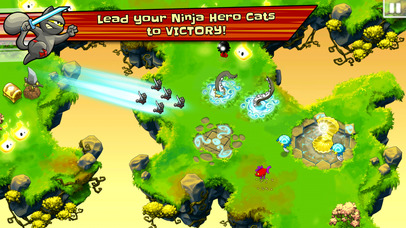 Ninja Hero Cats screenshot 2