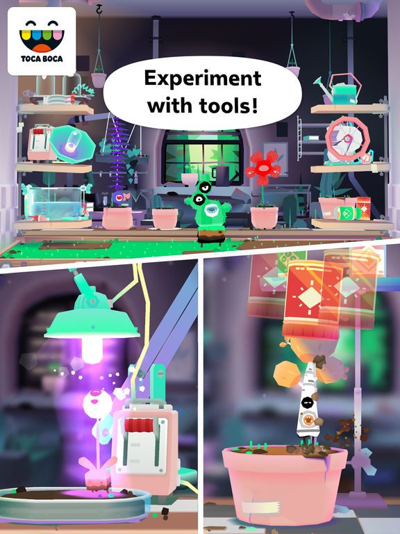 Toca Lab: Plants Screenshots