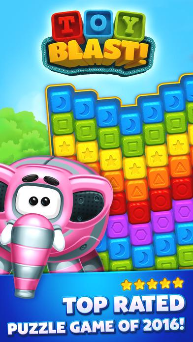 Toy Blast iPhone