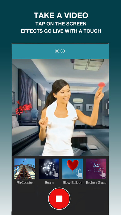 Lumyer - augmented reality camera effects screenshot 2