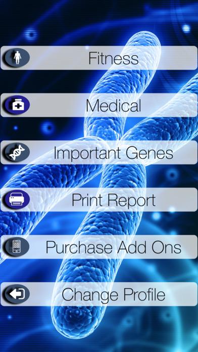 My Genetic Health Screenshots