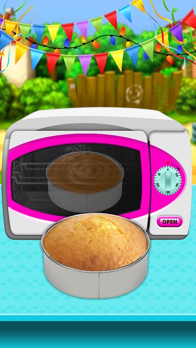 Ice Cream Doll Cake Maker 2017 screenshot 4