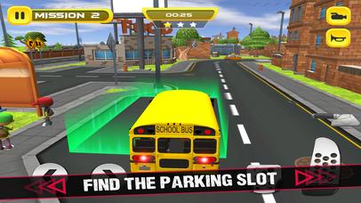 School Bus 3D Game screenshot 4