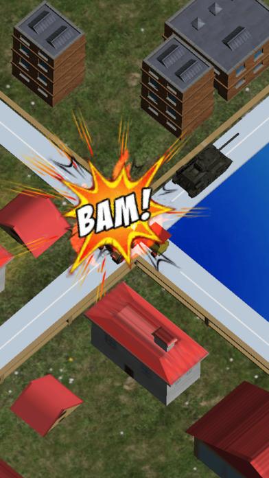 Mini Train Street Rush screenshot 1