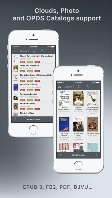 Screenshot #7 for tiReader 2 Pro – eBook and Comic book reader