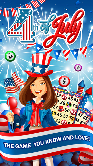 Screenshot 1 BINGO! Games of 4th of July Independence Day 2017
