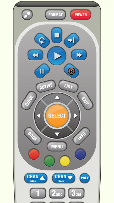 DirectVR Remote for DirecTV Screenshot