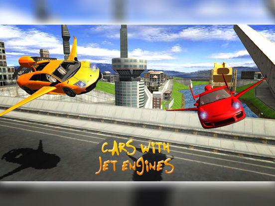 Flying Jet Cars: Extreme Supercars Robots screenshot 5