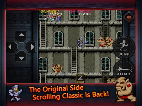 Ghosts'n Goblins MOBILE Screenshots