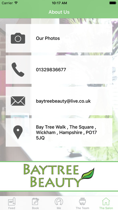 Baytree Beauty Wickham screenshot