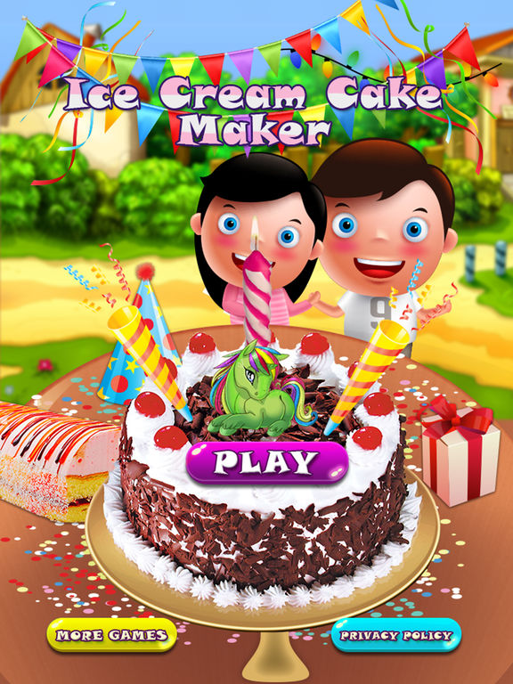 Ice Cream Doll Cake Maker 2017 screenshot 6