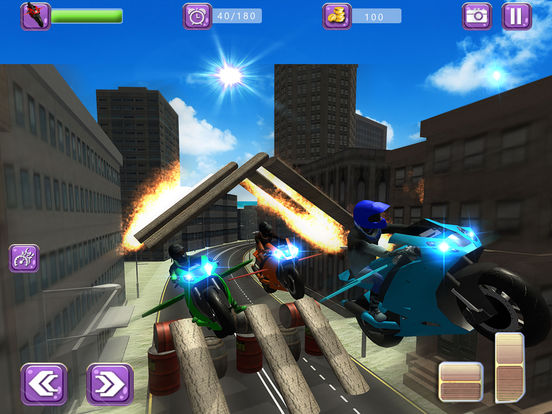 Flying Drift Bike Racing screenshot 8