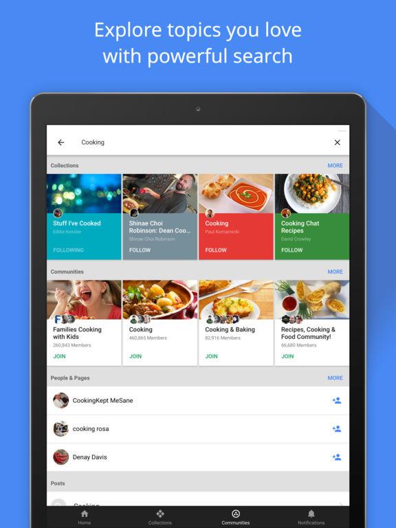 Google+ - interests, communities, discovery Screenshots