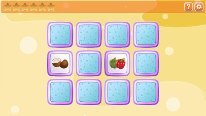 Memory for kids: fruit and vegetables screenshot 2