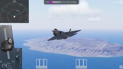 F35 Carrier Landing HD screenshot 1