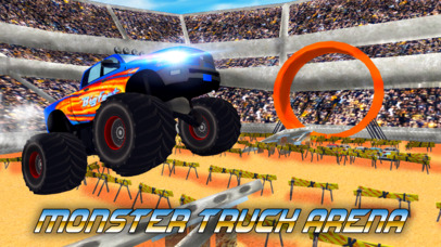 Monster Truck Stunt Arena screenshot 1