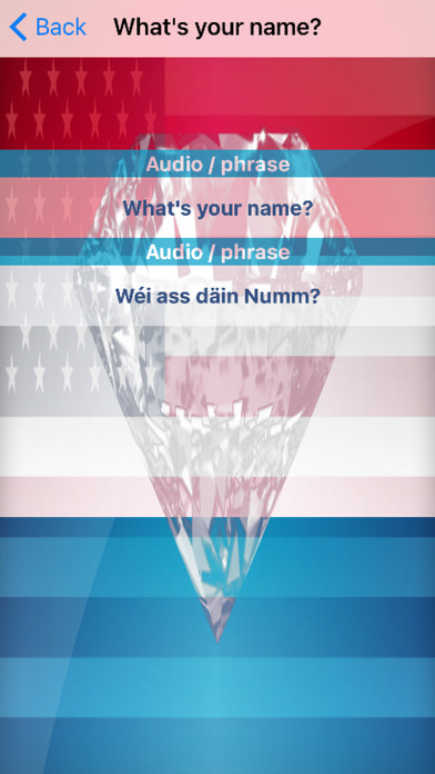 Luxembourgish Phrases Diamond 4K Edition screenshot 3