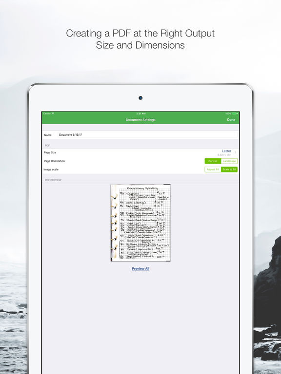Clear Scanner Pro: Fast PDF Scans Screenshots