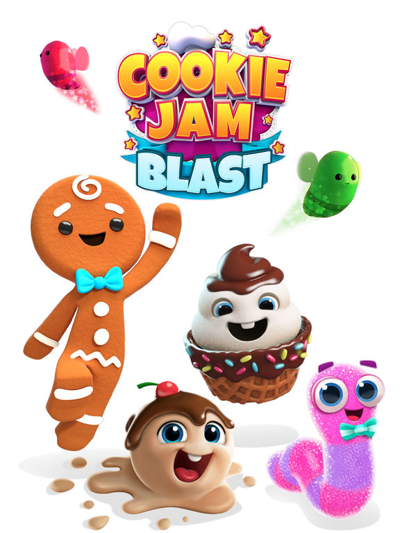Cookie Jam Blast Screenshots