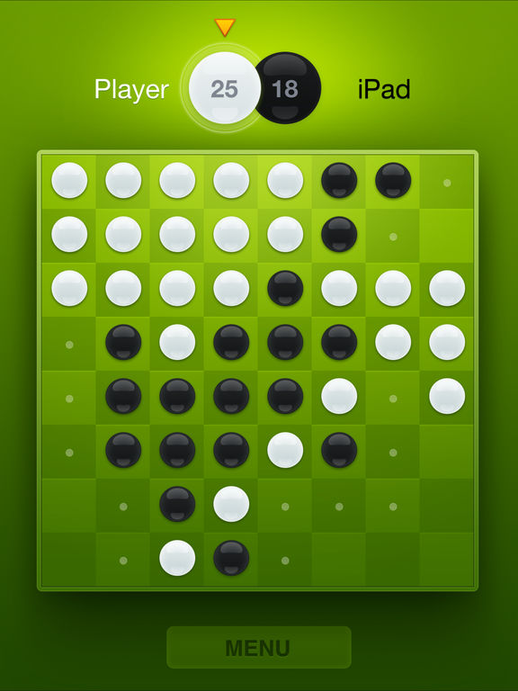Screenshot #2 for Fresh Reversi - Othello Like Strategy Game