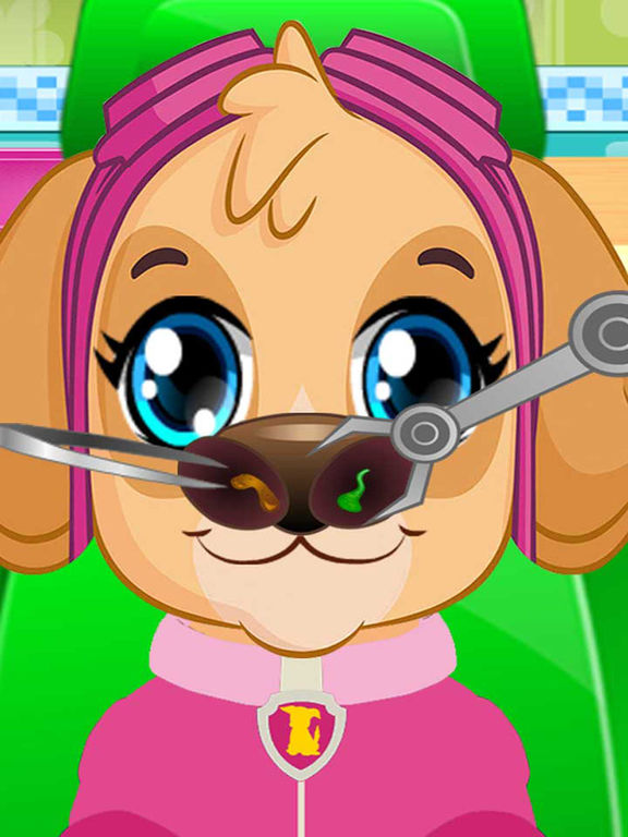 Pups Nose Doctor Kids Game screenshot 5