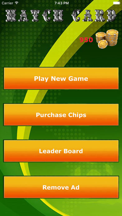 Match Card : Game screenshot 2